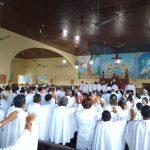 Dom Evaldo  encerra a assembleia diocesana dos ministros