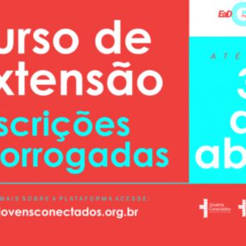 Prorrogadas as inscrições para os Cursos de Capacitação da Pastoral Juvenil do Brasil
