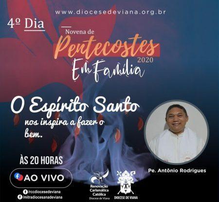 NOVENA DE PENTECOSTES - 4° DIA