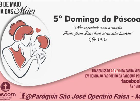Paróquia São José Operário Faisa Convida Para Transmissão da Santa Missa