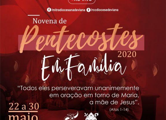 NOVENA DE PENTECOSTE EM FAMÍLIA