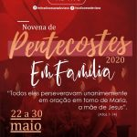 RCC PROMOVE EDIÇÃO ONLINE DA NOVENA DE PENTECOSTES PARA TODA DIOCESE DE VIANA