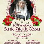 30º FESTEJO DE SANTA RITA DE CASSIA PARTICIPE!!