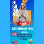 MISSA EM HONRA A NOSSA SENHORA DE FÁTIMA NA PARÓQUIA SANTA LUZIA, BURITICUPU-MA