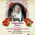 PENÚLTIMO DIA DO FESTEJO DE SANTA RITA DE CÁSSIA EM BURITICUPU