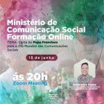 [MINISTÉRIO DE COMUNICAÇÃO SOCIAL – FORMAÇÃO ONLINE]