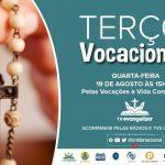 Terço Vocacional desta quarta-feira, 19, vai rezar pelas vocações à vida religiosa
