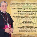 Celebração Eucarística da Ordenação Episcopal de Mons. Valentim Fagundes de Menezes