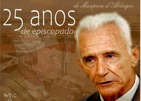 HOMENAGEM: Ao Bispo dom Xavier Gilles de MAupeou comemora o jubileu de prata de episcopado