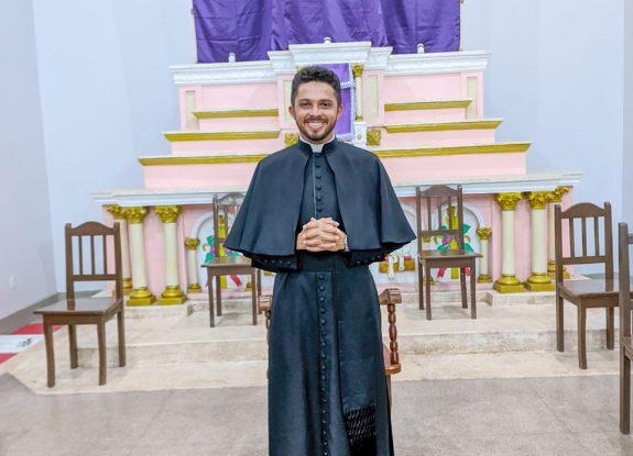 Ordenação Presbiteral Diác. Francinaldo Silva dos Santos