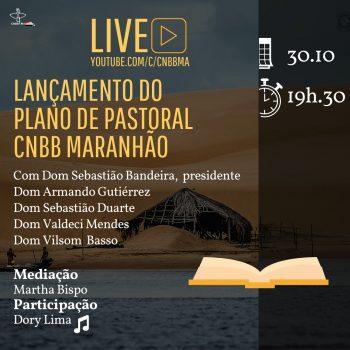 Live - Lançamento do plano de pastoral