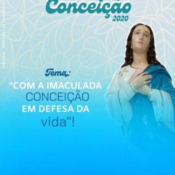 FESTEJO DA IMACULADA CONCEIÇÃO 2020