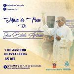 Participe da Missa de Posse do novo pároco da Matriz de Conceição (Bela Vista – MA)