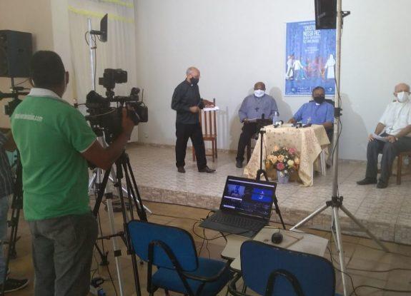 Bispos do Regional divulgam carta em coletiva de imprensa nesta manhã