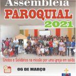 Participe da Assembleia Paroquial 2021 da Paróquia S. Rita de Cássia e São Francisco de Assis