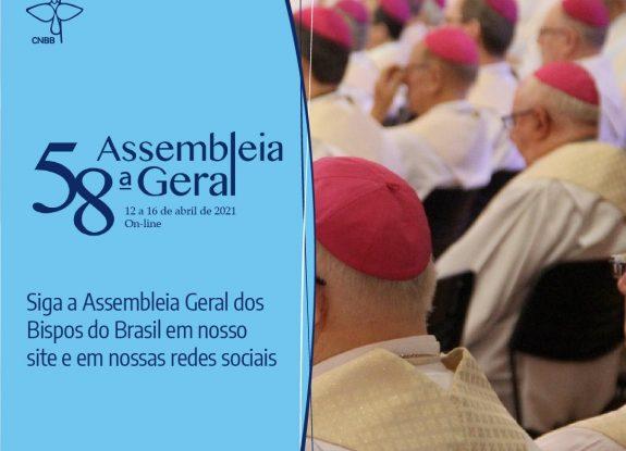 58ª ASSEMBLEIA GERAL DA CNBB TEM INÍCIO NA SEGUNDA-FEIRA, DIA 12 DE ABRIL