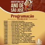 Programação da Abertura do Ano de São José na Paroquia São Francisco em Alto Alegre do Pindaré. Transmissão pelo canal do You Tube da Diocese de Viana Ne5
