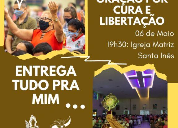 MISSA COM ORAÇÃO POR CURA E LIBERTAÇÃO