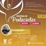 Acompanhe aqui a Novena de Pentecostes ao vivo
