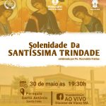 Participe da Missa da Santíssima Trindade