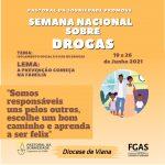 Participe da Semana Nacional sobre drogas (19 a 26 de junho)