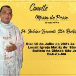 Missa de Posse do novo Pároco Pe. Nelcino Leocádio