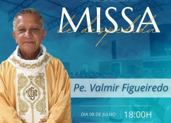 Fotos da Missa de despedida do Padre Valmir da Paróquia de São João