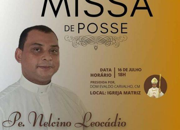 Missa de posse do Pe. Nelcino Leocádio