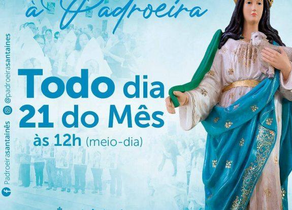Todo dia 21 do mês - Missa Devocional de Santa Inês
