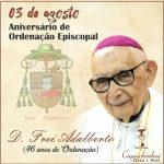 Aniversário de Ordenação Episcopal D. Frei Adalberto