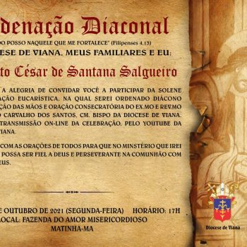 Ordenação Diaconal Augusto César de Santana Salgueiro