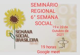 Seminário Regional da 6ª semana social
